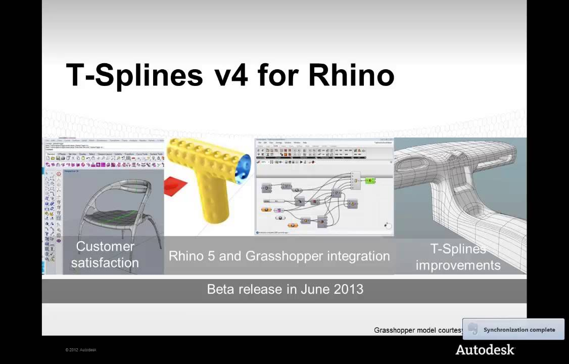 how to install t splines for rhino