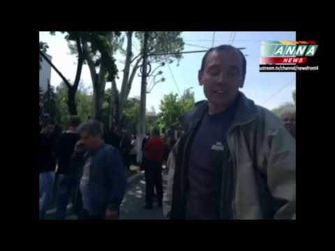 Luhansk - Mariupol, 12.5.2014 Občané a referendum.