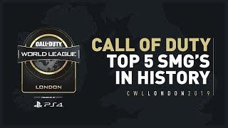 Top 5 Call of Duty SMG's In History