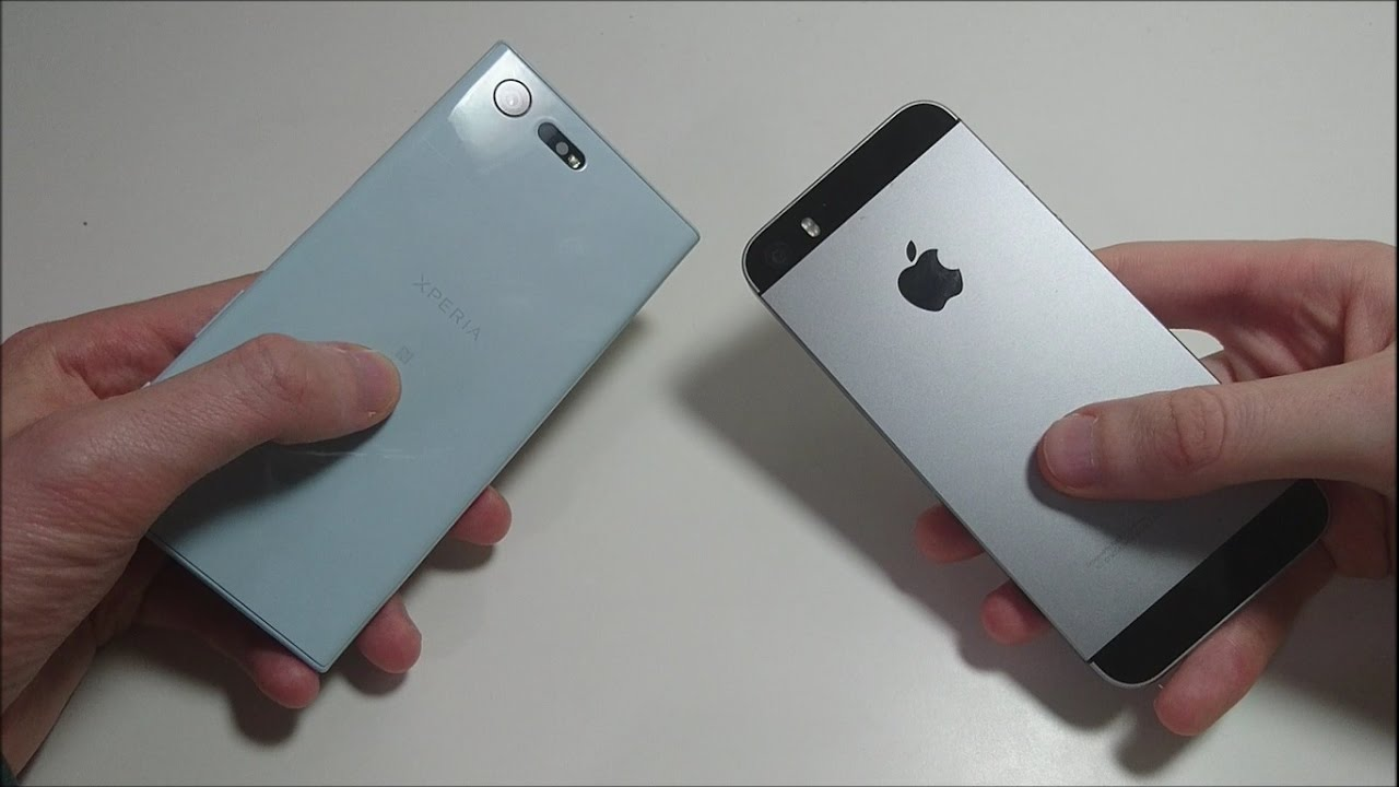 iphone 7 vs xz1 compact