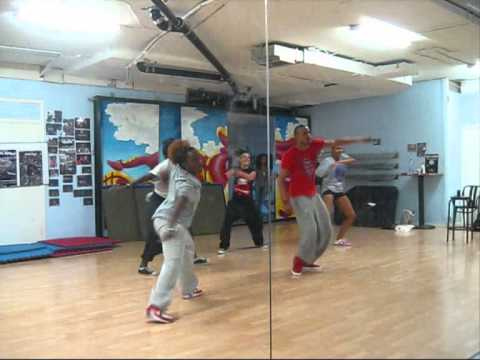 Mohombi  - Bumpy Ride - ORIGINAL Choreography [still in progress/practice material]