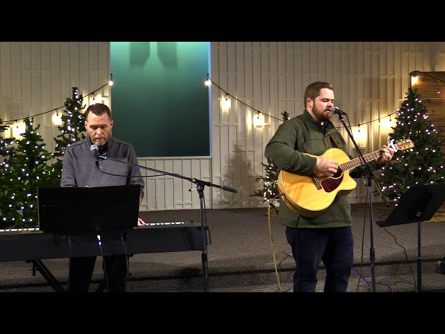 In Christ Alone; (Sung by Aaron & Curt)