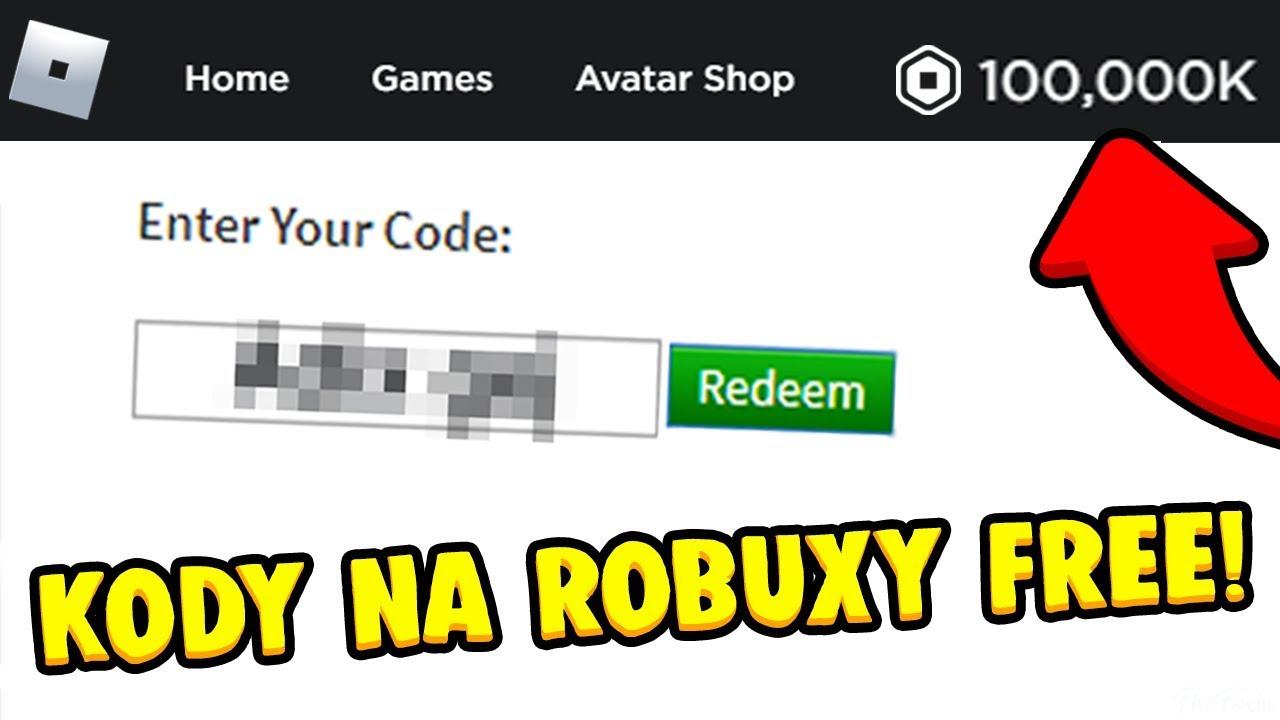 Kody Do Robloxa Na Robuxy Get 500 000 Robux Darmowe Kody Na Robuxy Zgarnij Robuxy I Darmowy Item Youtube