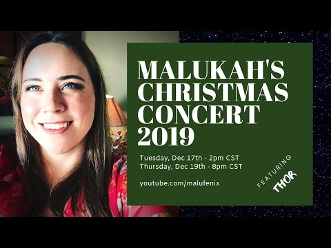 Live NOW! Malukah's Christmas Concert