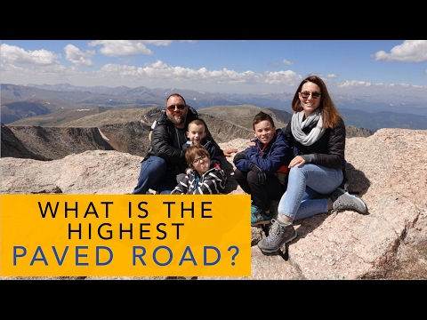 Mt Evans the Highest Road in North America with Less Junk More Journey (S2E28)