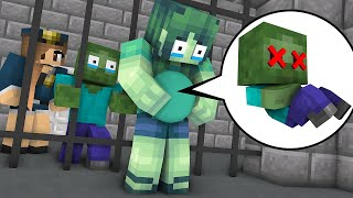 Monster School : ZOMBIE GIRL SAD LIFE CHALLENGE - Minecraft Animation