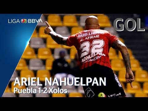 Gol de A. Nahuelpán   Puebla 1 - 2 Tijuana   Liga BBVA MX - Apertura 2019  - Jornada 1