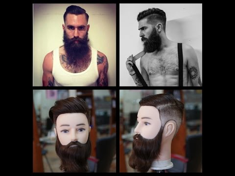 Men's Haircut - Ricki Hall - Chris John Millington Inspired Tutorial - TheSalonGuy  - wjYh3BS1B9I -