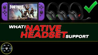 Fortnite has NATIVE HEADSET support for the Nintendo Switch | HOW IS THIS POSSIBLE?!