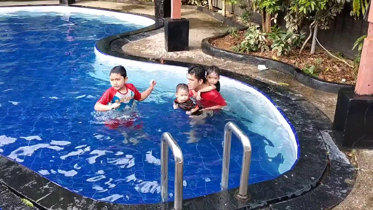 cara cepat bisa berenang - cara belajar berenang - Berenang di Canton Park Palembang