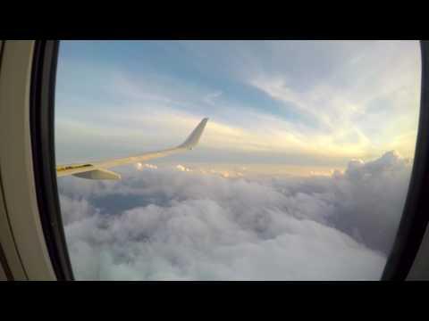 GoPro Flight Time Lapse - American Airlines 737-800 SJO-MIA