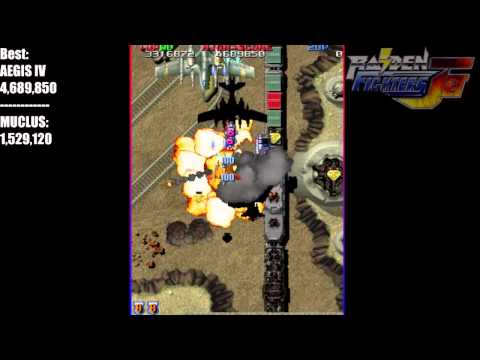 [Raiden Fighters Jet] Personal Best Runs - No Continues - 1 credit