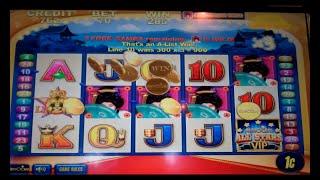 VIP All Stars Slot Machine - Geisha Bonus - Free Spins Win