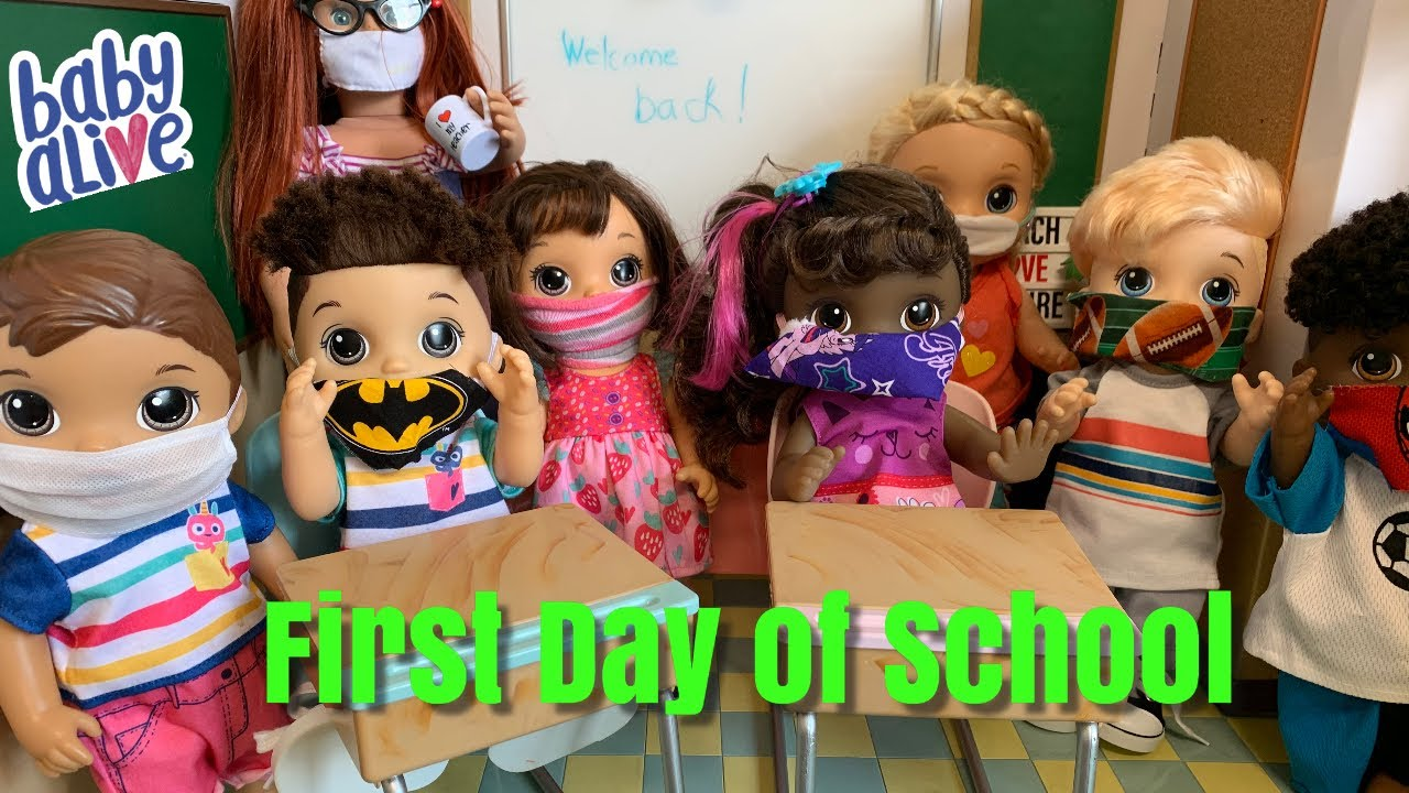 Baby Alive First Day of School Morning Routine