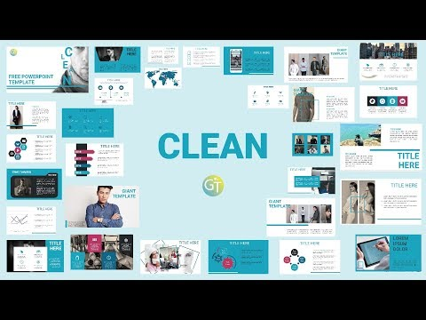 CLEAN POWERPOINT TEMPLATES 2018 - Free Download 30 Slides