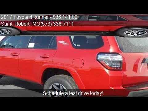 2017 Toyota 4Runner TRD Off Road for sale in Saint Robert, M
