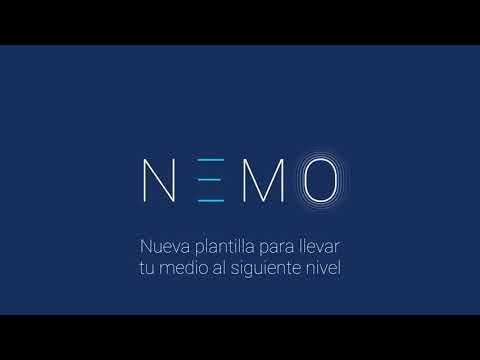 Nueva plantilla Opennemas