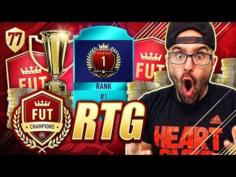 OMG I'M NUMBER 1 IN THE WORLD! FIFA 18 Ultimate Team Road To Fut Champions #77 RTG