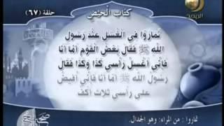 صحيح مسلم - القدر المستحب من الماء لغسل الجنابة