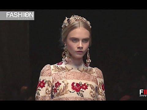 DOLCE&GABBANA Fall 2012 2013 Milan - Fashion Channel