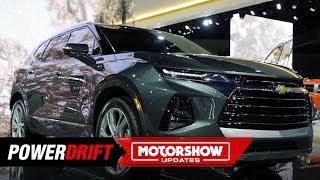 2019 Chevrolet Blazer : Camaro inspired SUV : 2018 LA Auto Show : PowerDrift