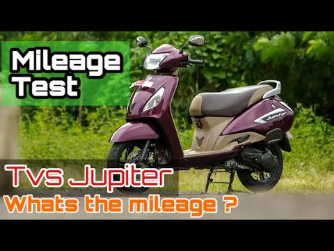 Tvs jupiter mileage test | actual mileage on road | how to test mileage in any scooter