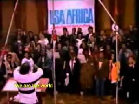 Single By USA of Africa from the album We Are the World