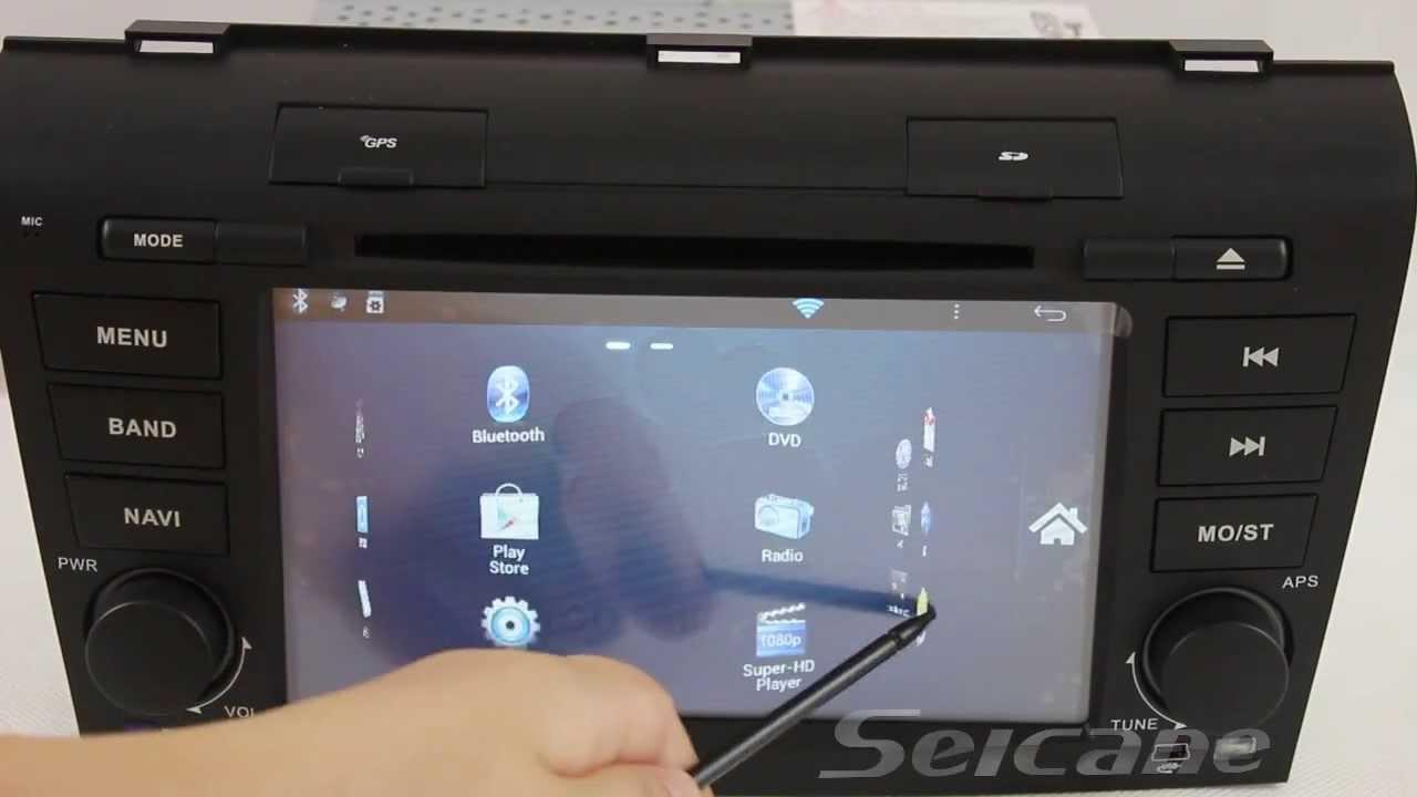 Android 4 0 3g Wifi Mazda 3 Dvd Player Gps Navigation
