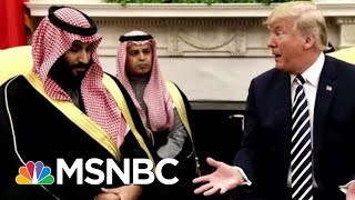 How Will GOP Leadership React To President Trump's Saudi Statement? | Morning Joe | MSNBC