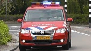 11/06/13 Diverse Hulpdiensten met spoed naar zeer grote brand GRIP 1 Maxum Brielle