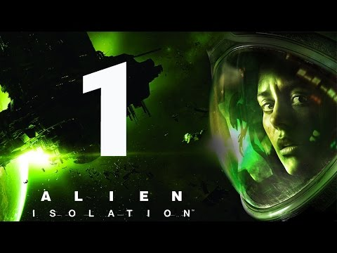 Прохождение Alien Isolation Видео прохождение игр