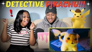 """POKÉMON Detective Pikachu"" Official Trailer #1 REACTION!!!!"