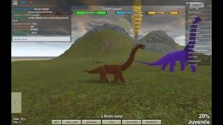 ROBLOX-Dinosaur Simulator, parte 2. EU MORRO AGORA!