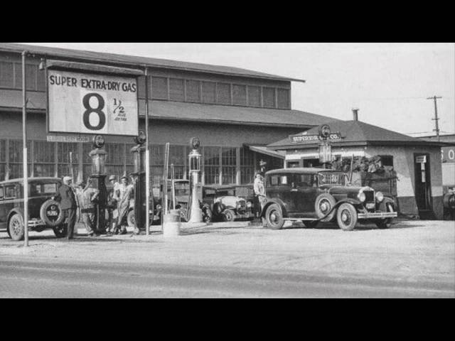#C13c: Gas Pumps of the 1920's