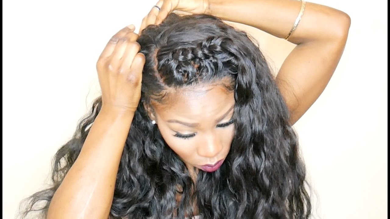how to style hair weave how to style a 360 lace frontal weave thebosslook part 2904