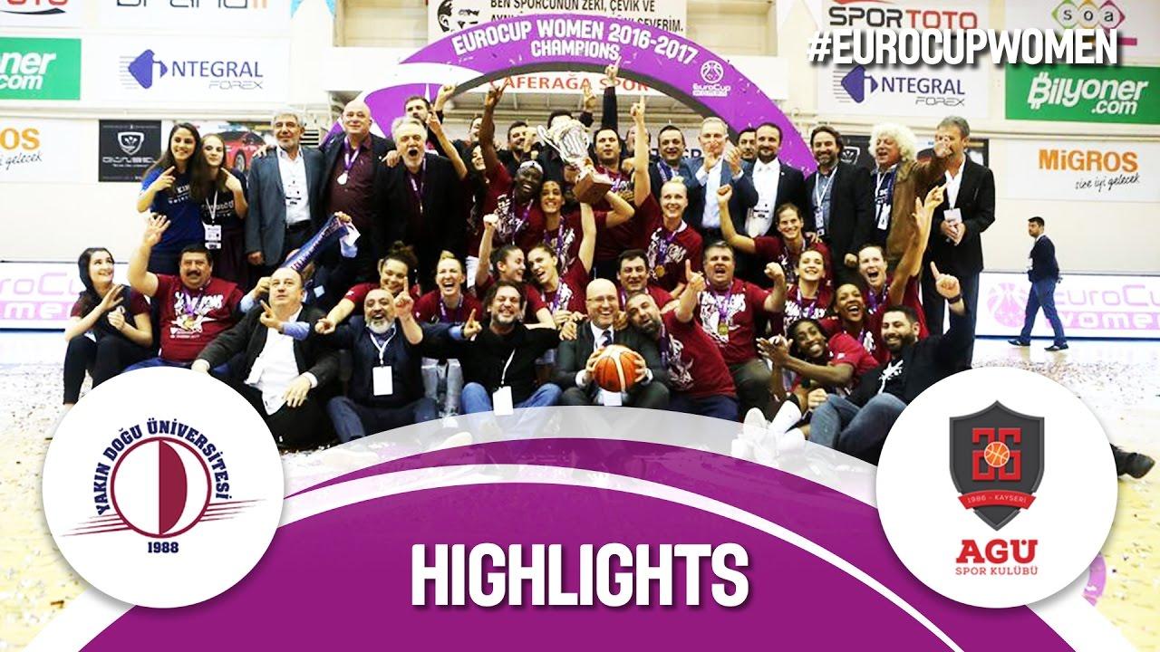 Highlights: Yakin Dogu Universitesi (TUR) v Bellona AGU (TUR) - Final