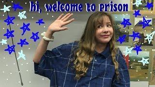 HI WELCOME TO PRISON PART 2// school vlog// ella sydney