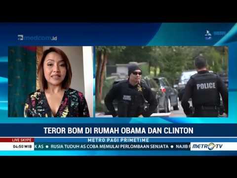 Laporan Langsung VOA untuk MetroTVPrimeTime: Teror Bom di Rumah Obama dan Clinton Mp3