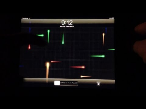 Live Wallpaper on your iPad - YouTube