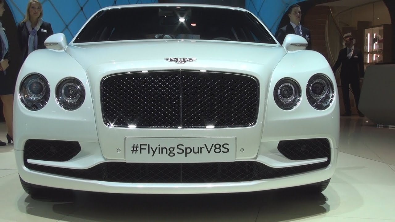 Bentley Flying Spur V8s 2016 Exterior And Interior Youtube