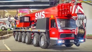 GIANT RC trucks in Action! HUGE 1/8 scale R/C models!