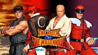 Final Bosses - SNK Vs Capcom: The Match of the Millennium