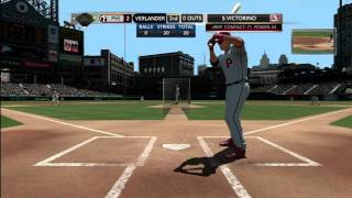 MLB 2K11 Online Gameplay Phillies vs Tigers