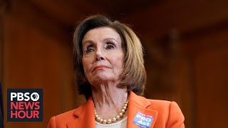 WATCH: Pelosi holds weekly news conference after Trump is acquitted