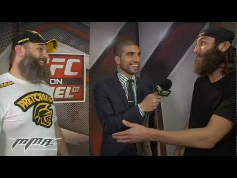 UFC 146: Roy Nelson Gives Beard Tips to TUF's Mike Chiesa