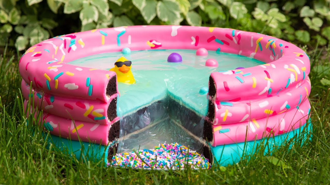 Swimming Pool... CAKE?! | Everything Is Cake | How To Cake It with Yolanda Gampp