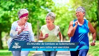Dia Mundial de Combate ao Sedentarismo alerta para rotina sem exercícios