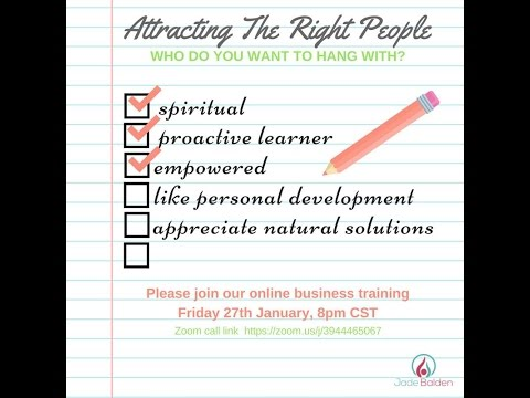 Attracting the Right people in your essential oil business
