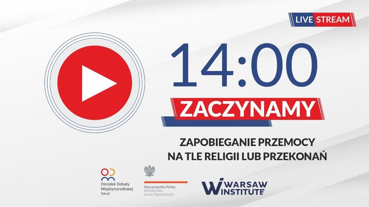 Udział wiceministra Piotra Wawrzyka w debacie