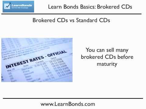 Brokered CDs - Get a Better Rate on CDs